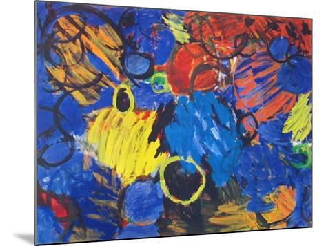 Motion-Ernst  Wilhelm Nay-Mounted Collectable Print