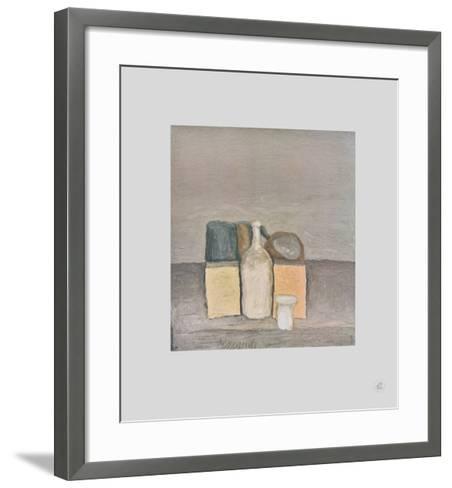 Natura Morta-Giorgio Morandi-Framed Art Print