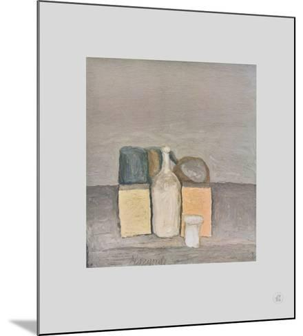 Natura Morta-Giorgio Morandi-Mounted Collectable Print