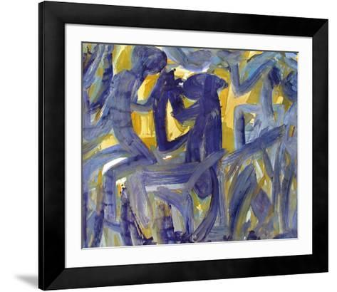 Monkey-Hap Grieshaber-Framed Art Print