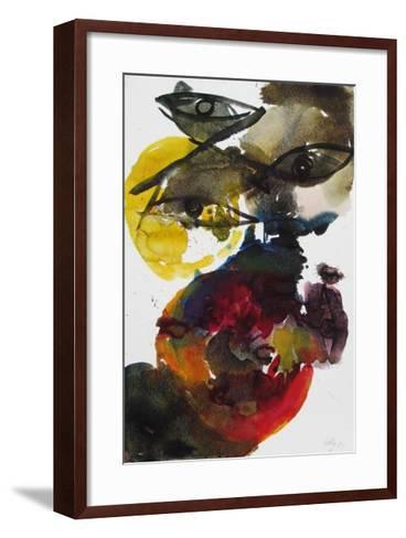 Volcanic-Ernst  Wilhelm Nay-Framed Art Print