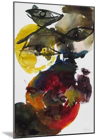 Volcanic-Ernst  Wilhelm Nay-Mounted Collectable Print