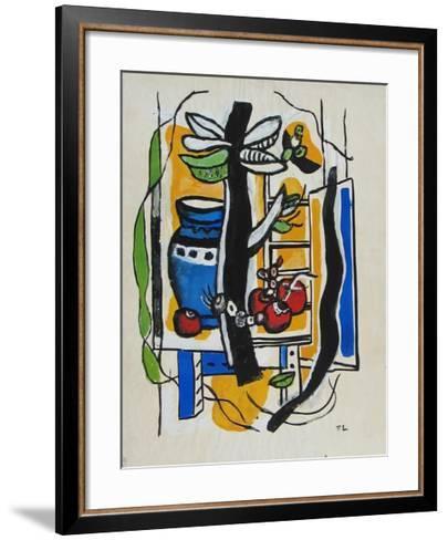 Still Life with Fruits-Fernand Leger-Framed Art Print