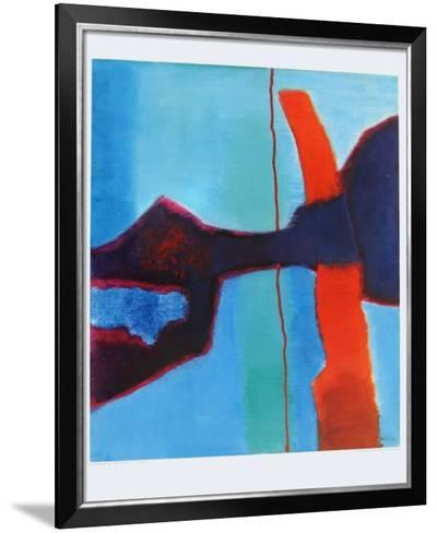 Red-Fritz Winter-Framed Art Print