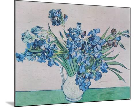 Vase Of Irises C1890 Collectable Print By Vincent Van Gogh Art
