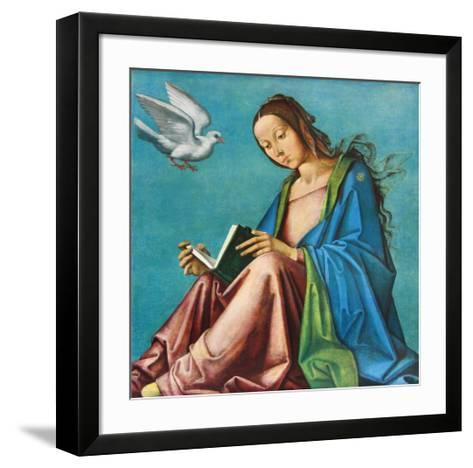 Madonna-Lorenzo Costa-Framed Art Print