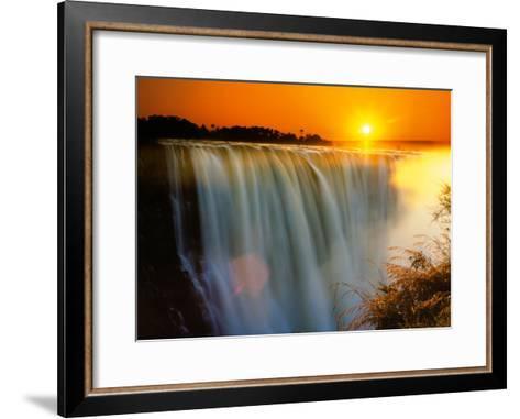 Victoria Falls - Zimbabwe-Roger De La Harpe-Framed Art Print