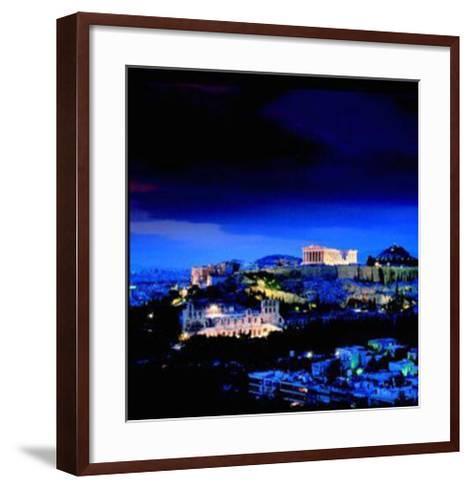 Athens - Attica - Greece-Stuart Black-Framed Art Print