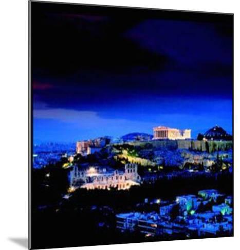 Athens - Attica - Greece-Stuart Black-Mounted Art Print