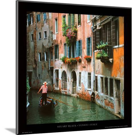 Venice - Italy-Stuart Black-Mounted Art Print
