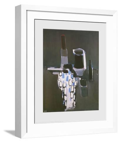 Dish, Pots and Bottles-Nicolas De Sta?l-Framed Art Print