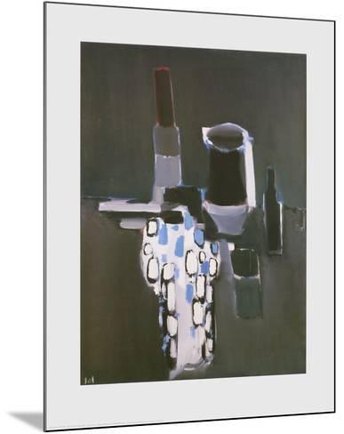 Dish, Pots and Bottles-Nicolas De Sta?l-Mounted Art Print