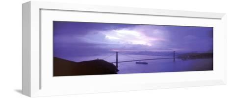San Francisco - Golden Gate Bridge-Walter Bibikow-Framed Art Print