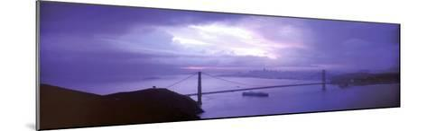 San Francisco - Golden Gate Bridge-Walter Bibikow-Mounted Art Print