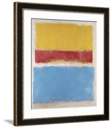 Untitled (Yellow, Red and Blue), c.1953-Mark Rothko-Framed Art Print