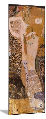 Water Serpents I, c.1907-Gustav Klimt-Mounted Art Print