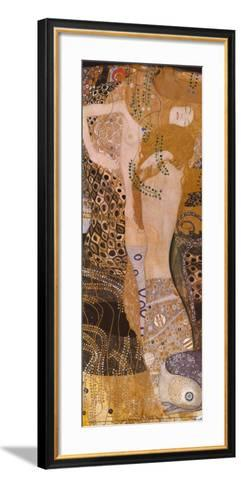Water Serpents I, c.1907-Gustav Klimt-Framed Art Print