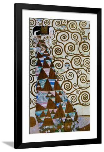 Expectation, Stoclet Frieze, c.1909-Gustav Klimt-Framed Art Print