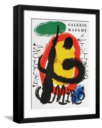 Galerie Maeght, Peintures Recentes-Joan Mir?-Framed Art Print