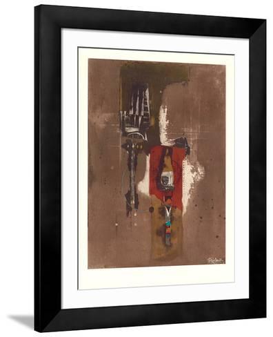 Deux Plantes-Johnny Friedlaender-Framed Art Print