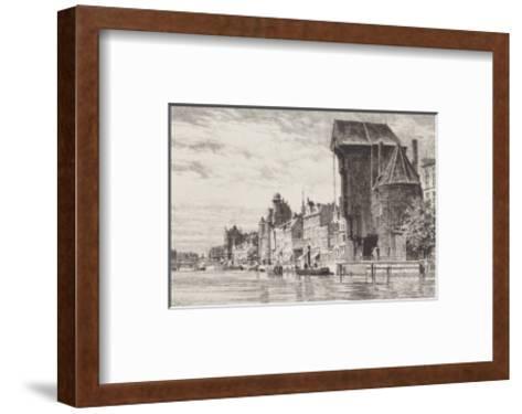 Danzig - Lange Bruecke-Bruck-Framed Art Print