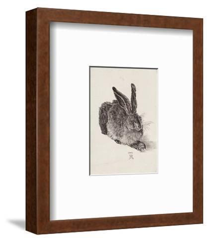 Hase - Nach Duerer- Zwicker-Framed Art Print