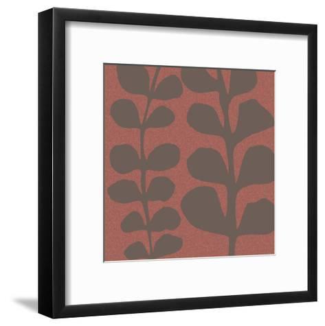 Maidenhair Coco Stem-Denise Duplock-Framed Art Print