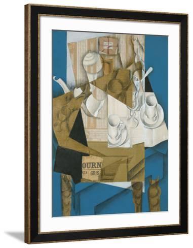 Breakfast, 1914-Juan Gris-Framed Art Print