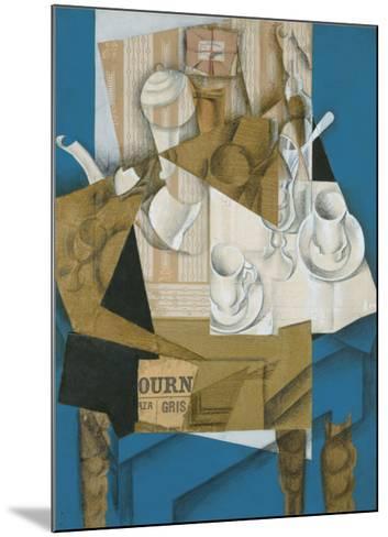 Breakfast, 1914-Juan Gris-Mounted Art Print