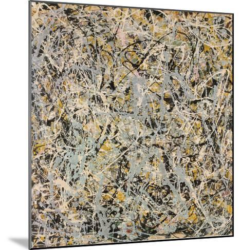 No. 4, 1949-Jackson Pollock-Mounted Art Print
