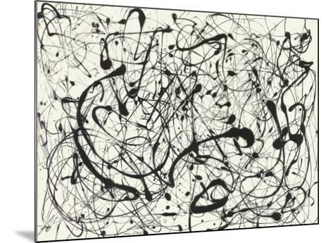 No. 14 (Gray)-Jackson Pollock-Mounted Art Print