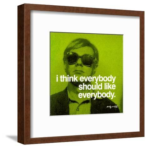 Everybody--Framed Art Print