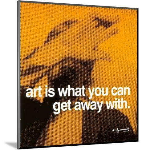 Art--Mounted Art Print