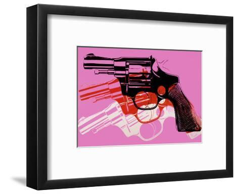 Gun, c.1981-82-Andy Warhol-Framed Art Print