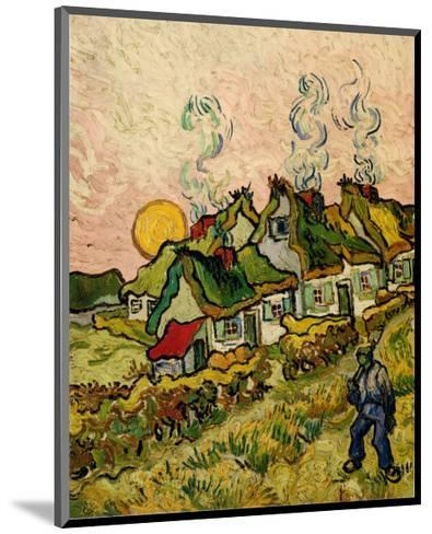 House and Figure, c.1890-Vincent van Gogh-Mounted Art Print