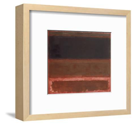 Four Darks in Red, 1958-Mark Rothko-Framed Art Print