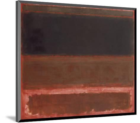 Four Darks in Red, 1958-Mark Rothko-Mounted Art Print