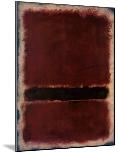 Untitled, 1963-Mark Rothko-Mounted Art Print