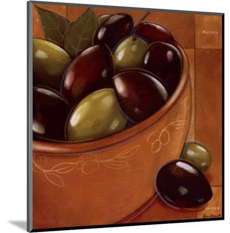 Bol Olives Laurier-Chantal Godbout-Mounted Art Print