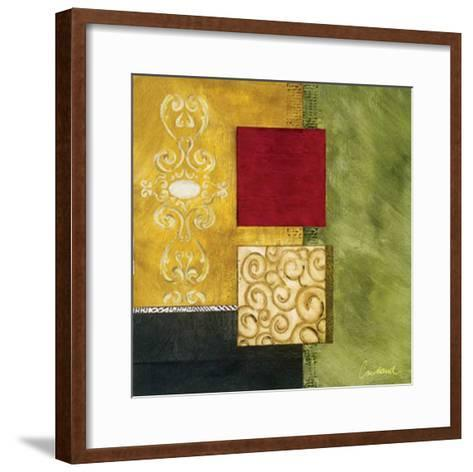 Square Abstract I-Courtland-Framed Art Print