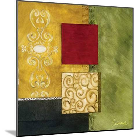Square Abstract I-Courtland-Mounted Art Print