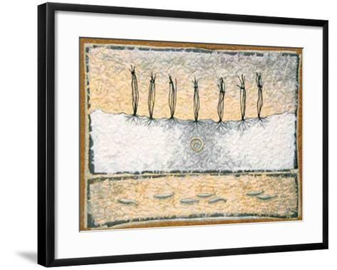 Seven Tied-Lorraine Roy-Framed Art Print