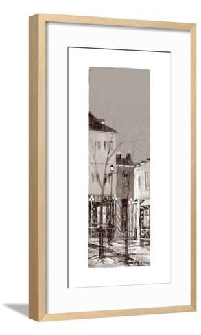 Vue de Montmartre I-Aleksandre Kukolj-Framed Art Print
