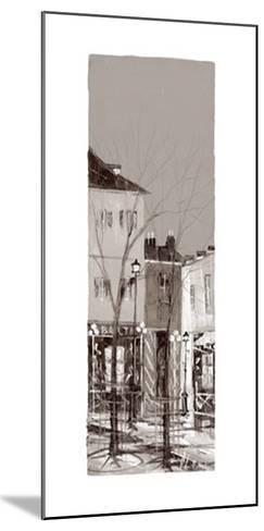 Vue de Montmartre I-Aleksandre Kukolj-Mounted Art Print