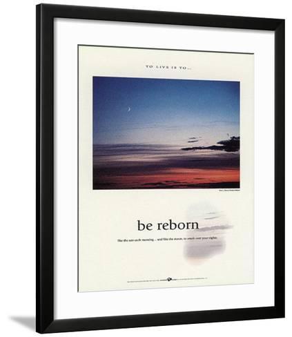 Be Reborn-Francis Pelletier-Framed Art Print