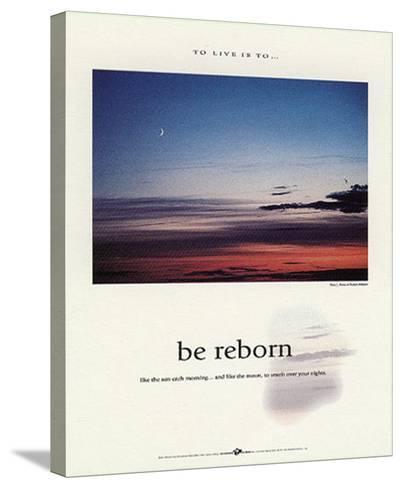 Be Reborn-Francis Pelletier-Stretched Canvas Print