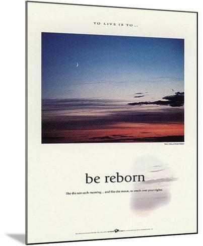 Be Reborn-Francis Pelletier-Mounted Art Print