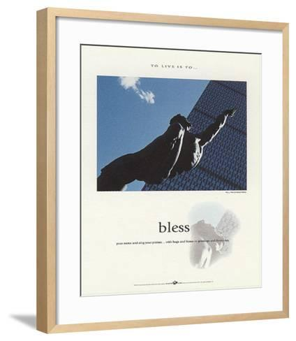 Bless-Francis Pelletier-Framed Art Print