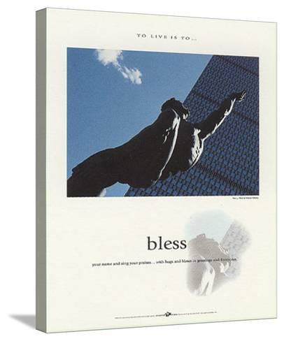 Bless-Francis Pelletier-Stretched Canvas Print