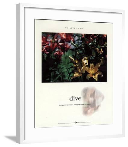 Dive-Francis Pelletier-Framed Art Print